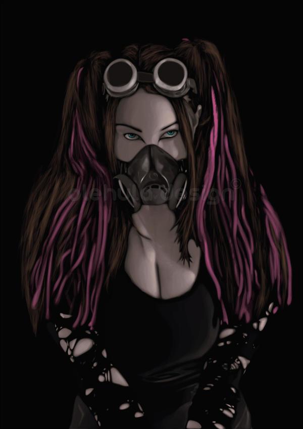 DreadGirl by DarkToy18