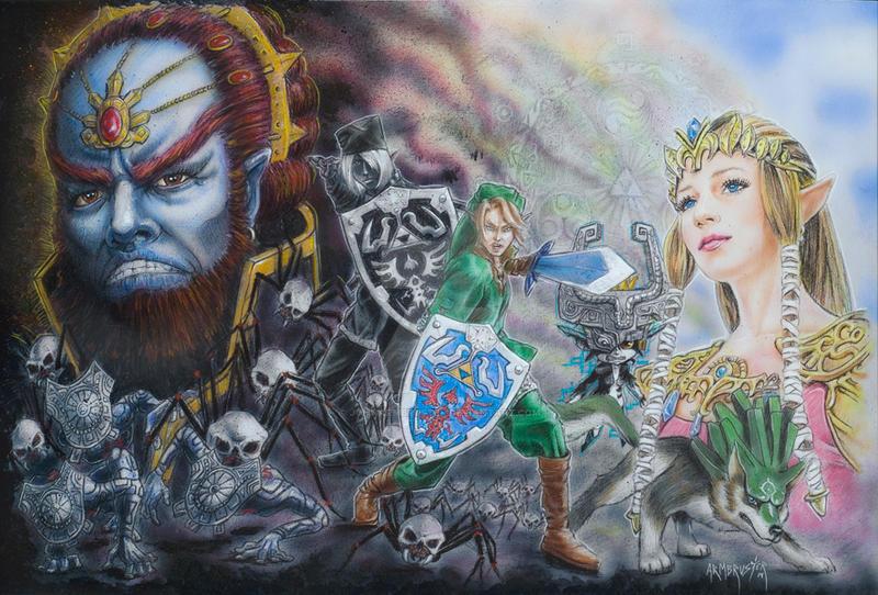 Zelda by JohnArmbruster