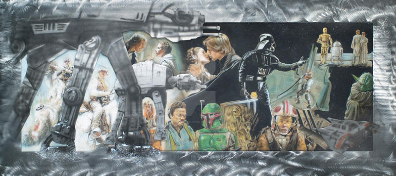 empire strikes back by JohnArmbruster