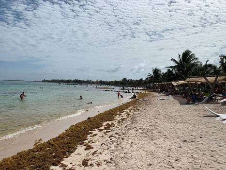 Blue Kay Beach, Mexico