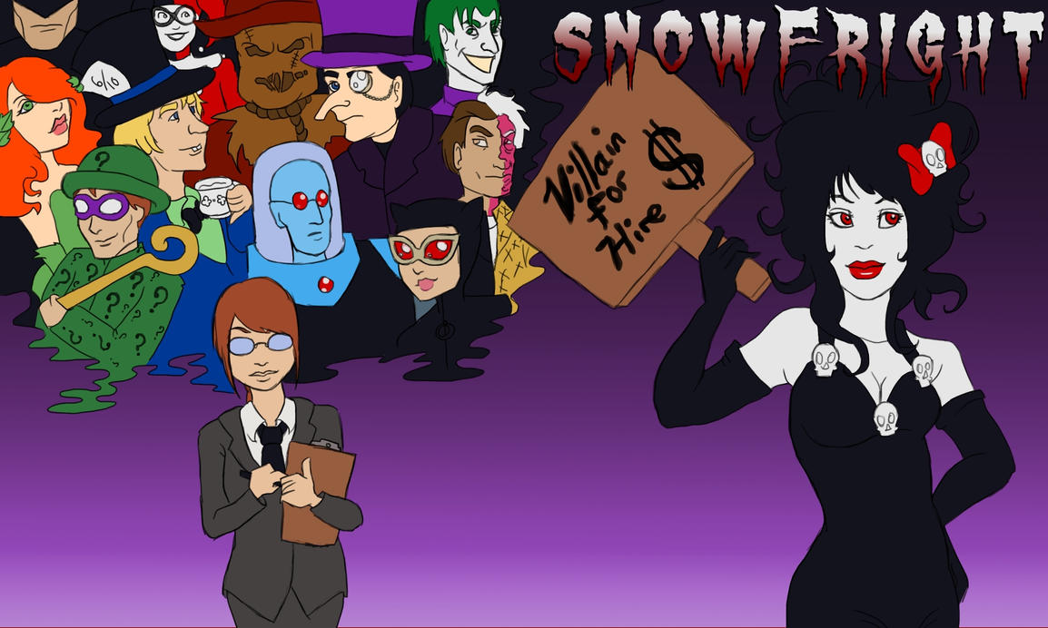 Snow Fright - Villain for Hire by SnowFright