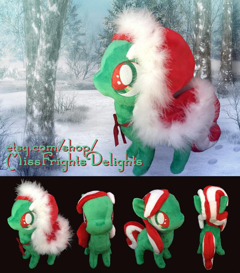Pony Plush: Christmas Spirit by SnowFright