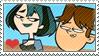CodyxGwen stamp by nikki-kun05