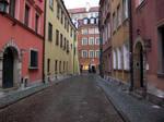 Warsaw alley
