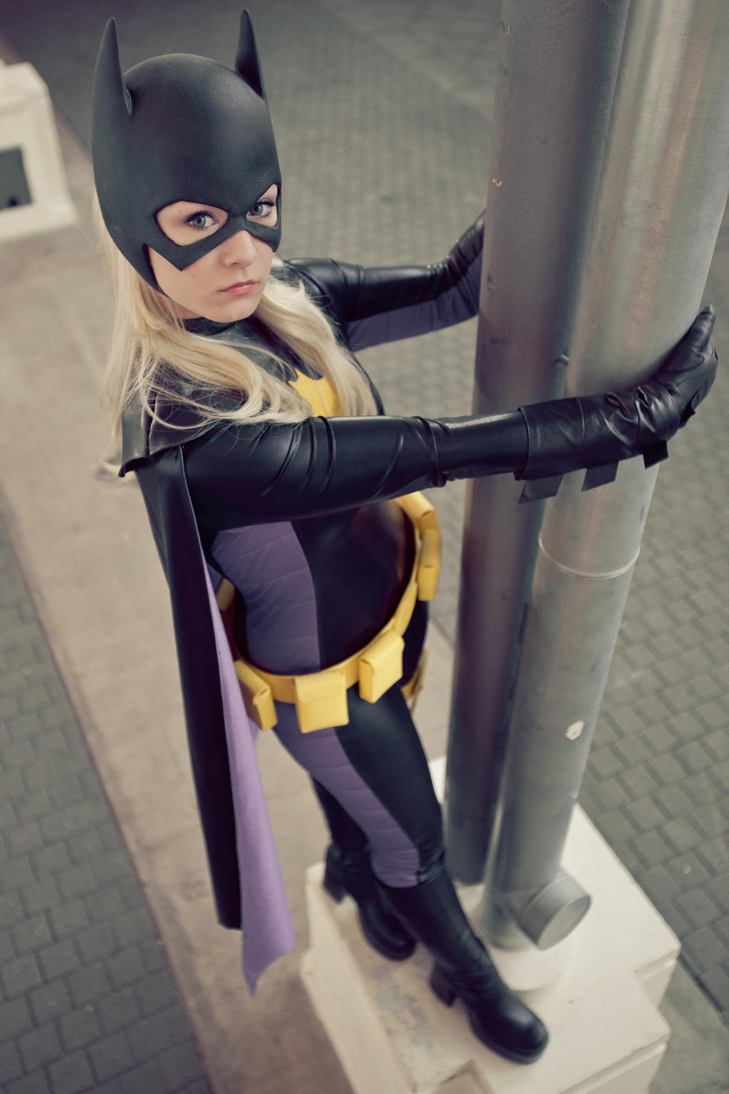 Sina - Batgirl : Stephanie Brown III by afflaf