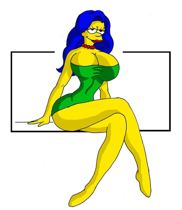 Marge S Makeover By Dynamoob On Deviantart