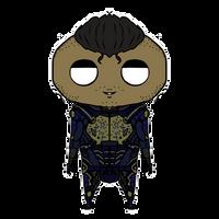 Mass Effect OC chibi: Dante