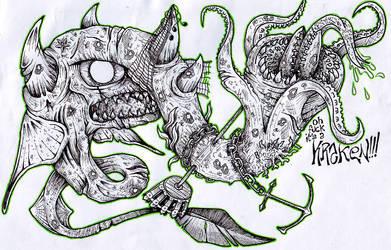 oh fuck its a kraken by Morde