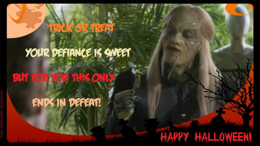 Wraith Holiday Greeting (Halloween):  Shawn by VelvetKevorkian333