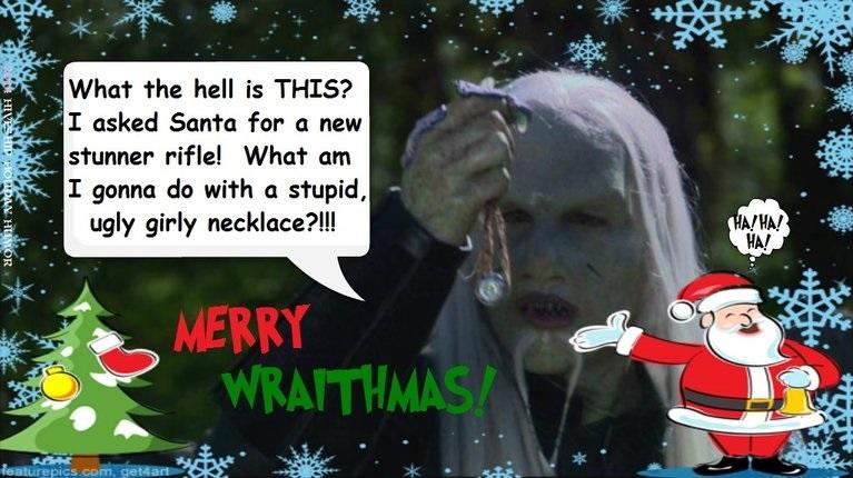Wraith LOLiday Greeting (Odin/Steve) by VelvetKevorkian333
