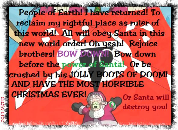 Invader Zim Holiday Greeting #1 (Christmas) by VelvetKevorkian333