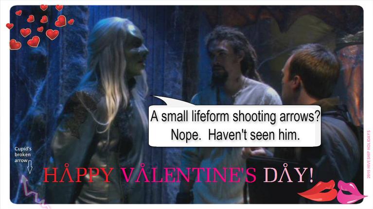 Wraith LOLiday Greeting (Valentines Day-Erik) by VelvetKevorkian333