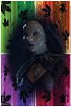 Seasonal (Fall) Wraith Queen Avatar (Akasha) by VelvetKevorkian333
