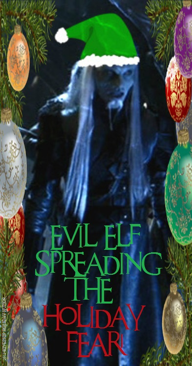 Wraith LOLiday Greeting:  Evil Elf Holiday Fear by VelvetKevorkian333