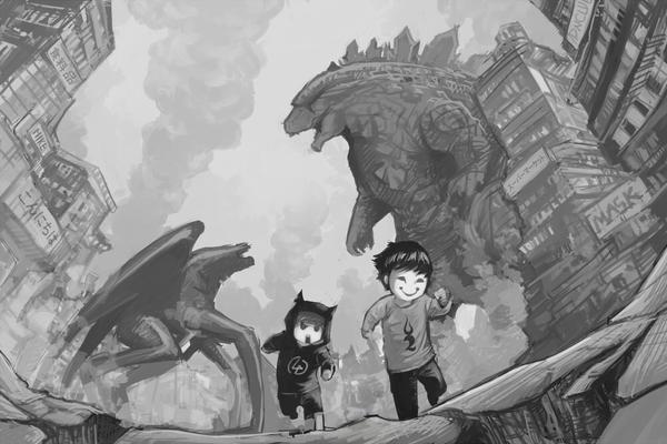 [Arttrade] Godzilla by bmad95