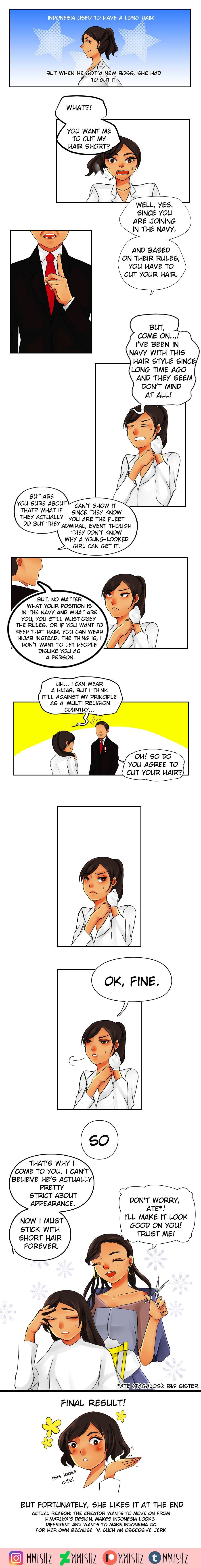Aph Why Indonesia Cut Her Hair By Mmishz On Deviantart