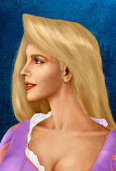 Rapunzel - Half Assed Portrait