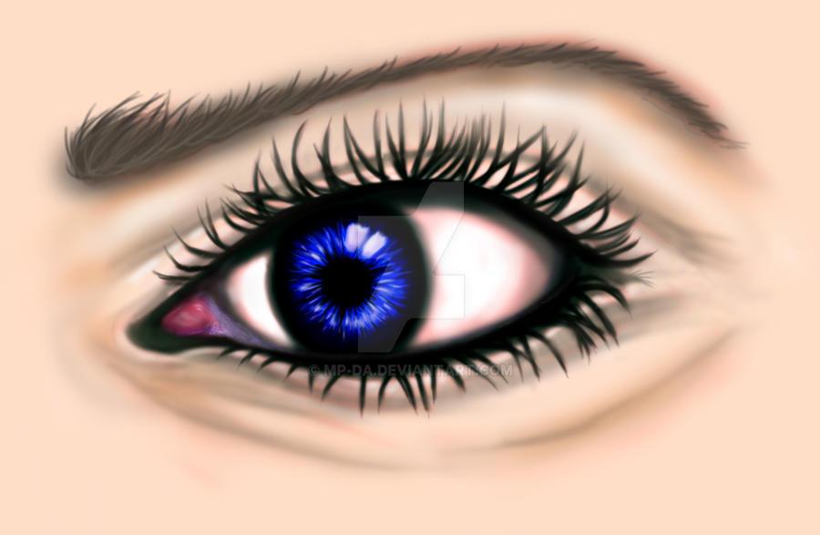 Digital Eye WIP by MP-DA
