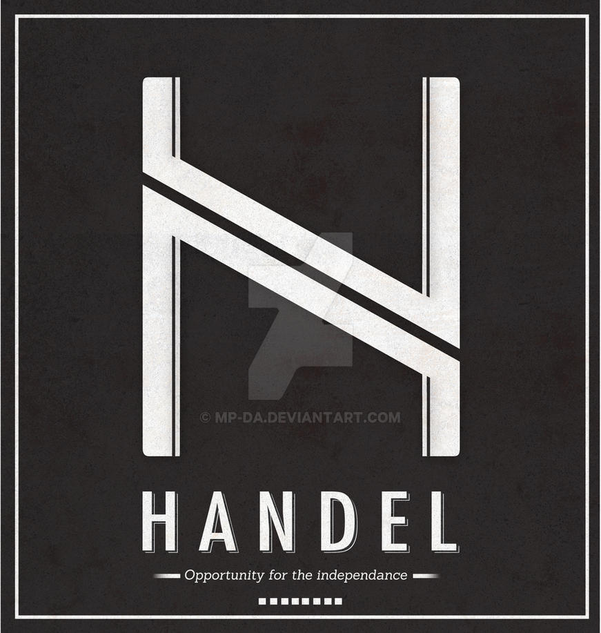 Handel logo by MP-DA