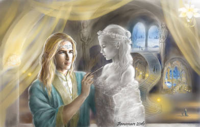 And the King Had No Wife by annamare