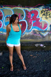 Dee and Graffiti by johnebodnar