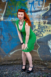 Kelly In Green by johnebodnar