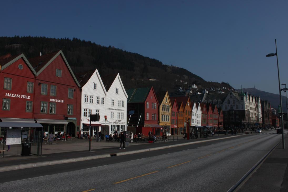 Bryggen Bergen by Diverman666
