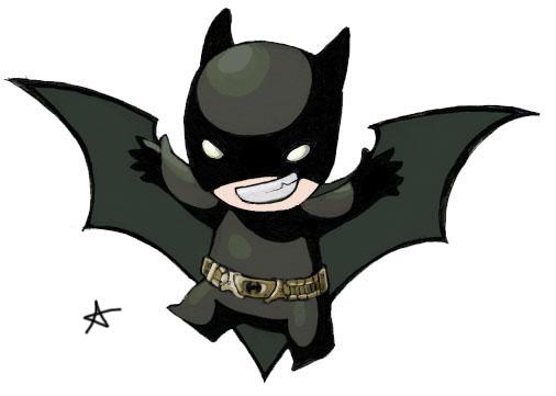 Chibi Batman by alexaaaaa on DeviantArt