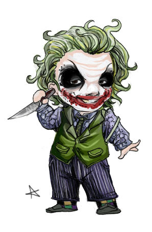 Chibi Joker by alexaaaaa on DeviantArt