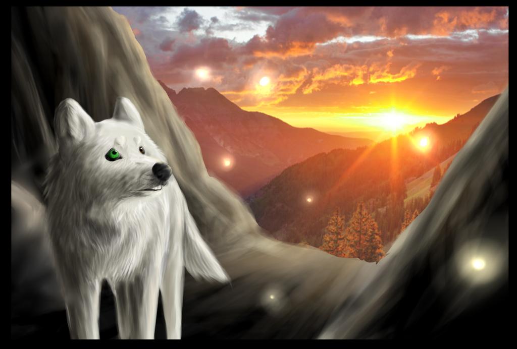Mountain Traveler by Yomahimore