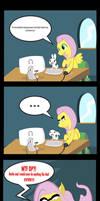 Fluttershy does not approve, OP. by GeeksComeOutAtNight