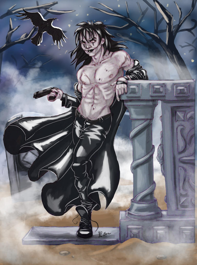 The Crow Eric Final by Arwen111