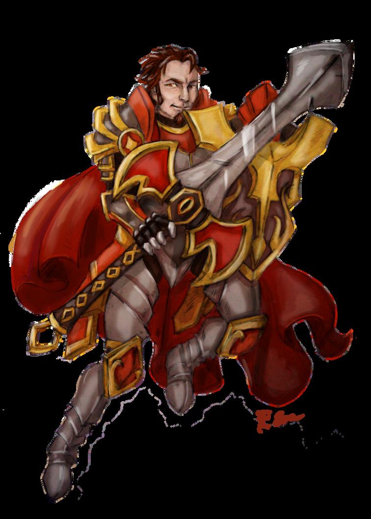 Davion The Dragon Knight by Arwen111