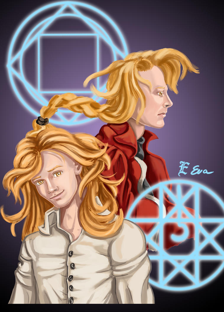Elric Brothers by Arwen111