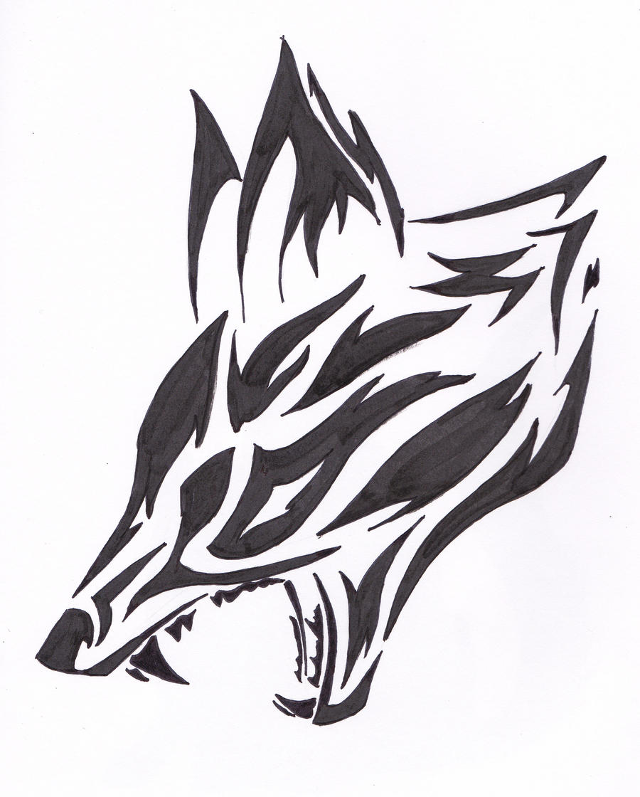 Evil fox by fantasy coolcat on deviantart for Cool fox drawings