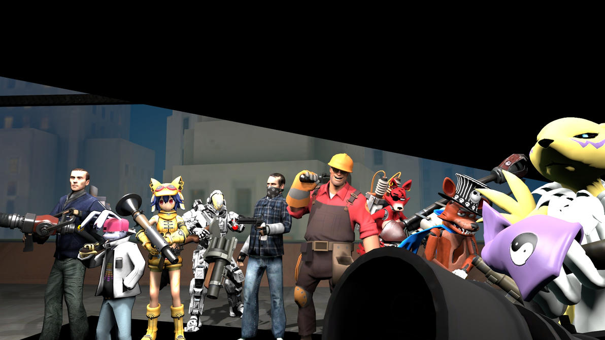 -=-=-= TF2 Re-Pose[?] =-=-=- by FoxValoKne