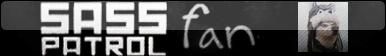 -=-= Sass Patrol Fan Button =-=- by FoxValoKne