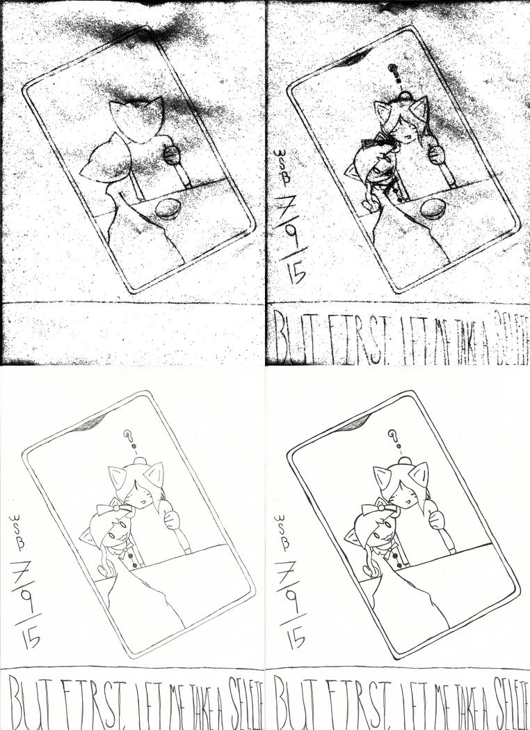 3 - Mumo and William for DekuDeer - Sketchings by FoxValoKne