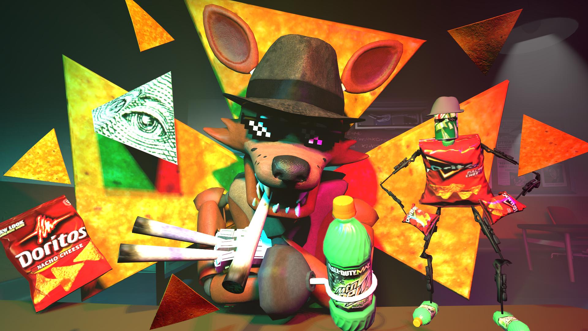 Commission SFM - MLG Foxy by FoxValoKne