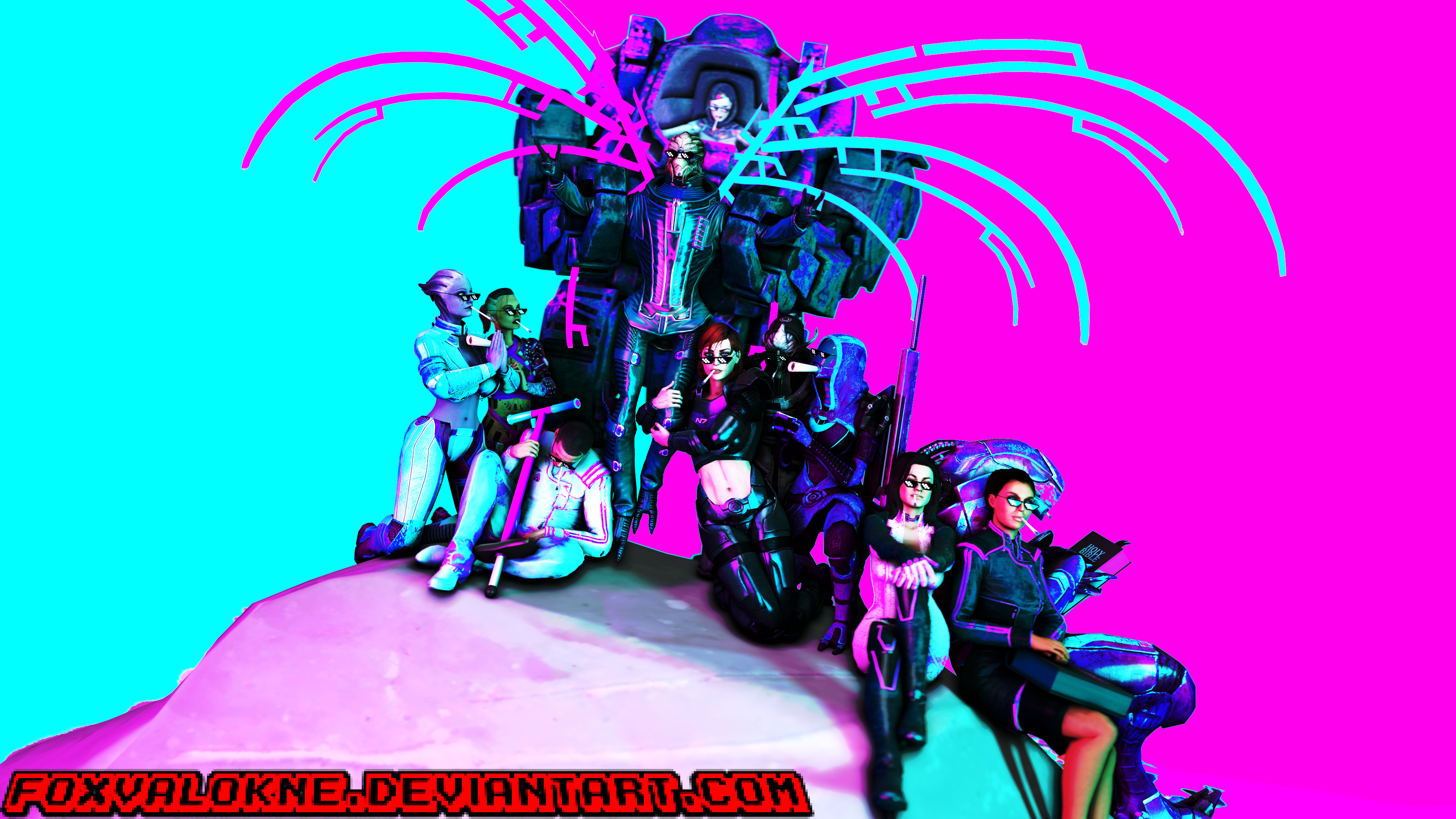 -=-=-= SFM_Wallpaper_Request_ 005 =-=-=- by FoxValoKne
