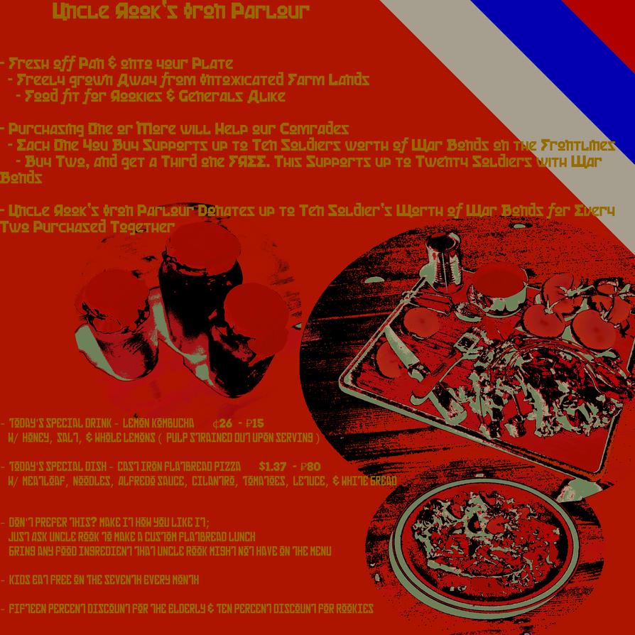 -=-=-= RAID: WWII Poster - 'Iron Parlour' =-=-=- by FoxValoKne