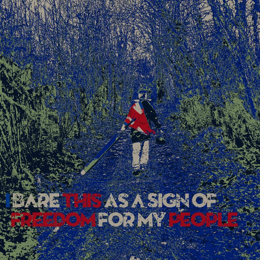 -=-=-= RAID: WWII Poster - 'Flag Bearer' =-=-=- by FoxValoKne