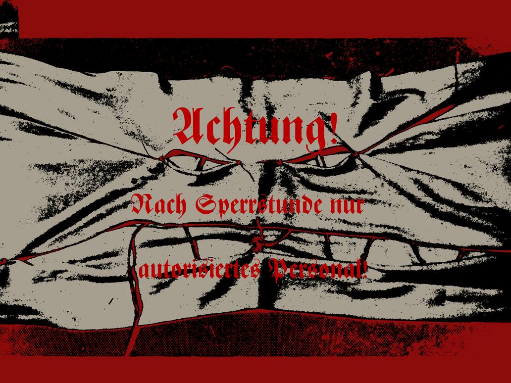 -= RAID: WWII Poster - 'Nach Geschaftsschluss' =- by FoxValoKne
