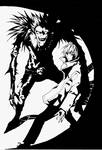 DEATH NOTE- Light and Ryuk