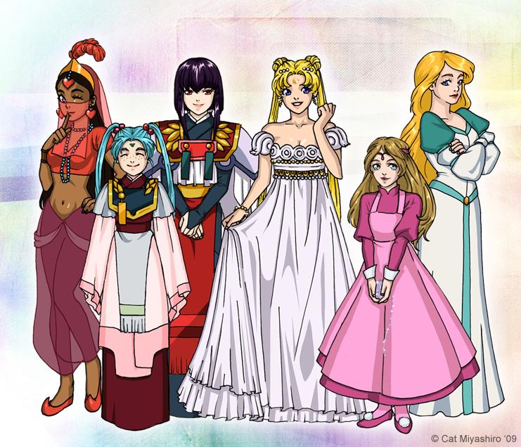 My Childhood Princesses by KittyCatKissu