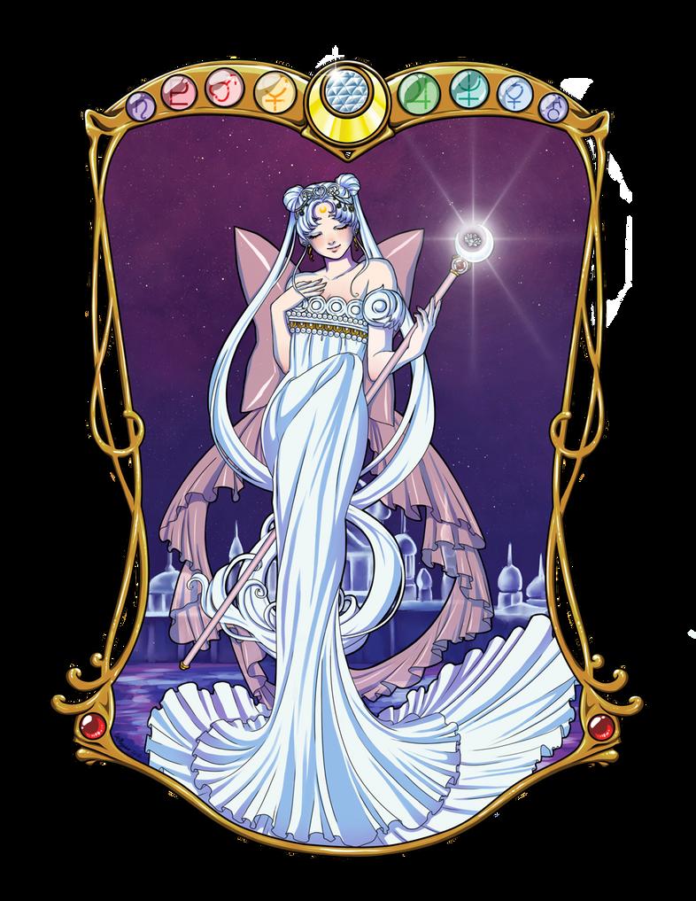 Neo Queen Serenity by KittyCatKissu