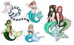 Mermaid Sketch Dump