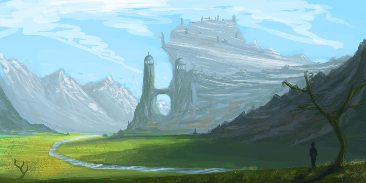 Fantasy Landscape by willroberts04