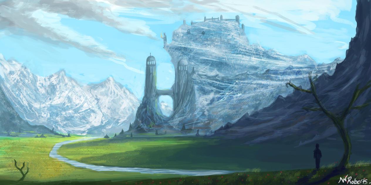 Fantasy Landscape by willroberts04