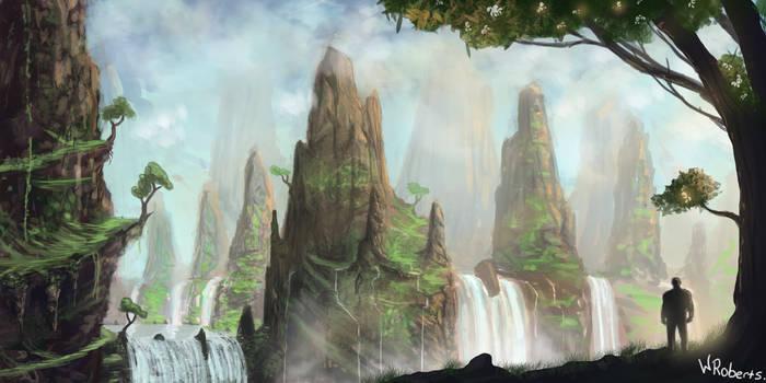 Waterfall by willroberts04